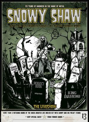 SNOWY SHAW LIVE DVD/CD BOX