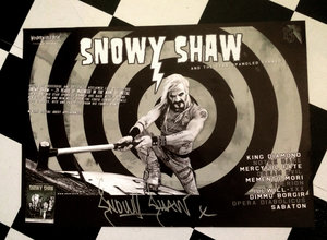 SNOWY SHAW POSTER
