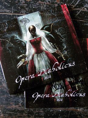 OPERA DIABOLICUS CD ( autographed )