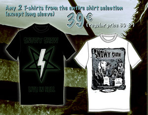 TWO SHIRTS XCEPTIONAL  X-MAS OFFER