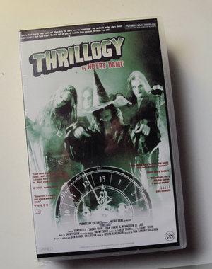 THRILLOGY BY NOTRE DAME (signed)