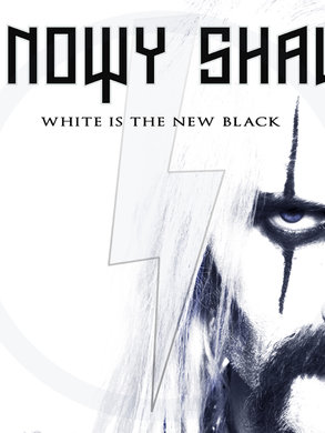 SNOWY SHAW: WHITE IS THE NEW BLACK ( white vinyl double LP)