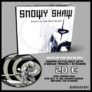 SNOWY SHAW: WHITE IS THE NEW BLACK - DIGI CD
